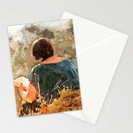 Read Near Lake Stationery Cards