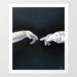 Cosmic Touch Art Print