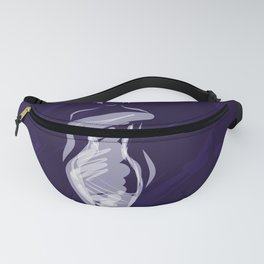 Fashion Girl Blue Fanny Pack