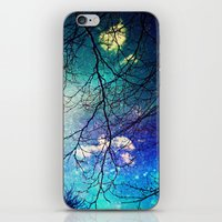 night sky iPhone & iPod Skins featuring night sky by Sylvia Cook Photography