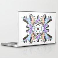 unicorns Laptop & iPad Skins featuring Unicorns by abbykaye