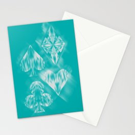 Aces of Ice Stationery Cards