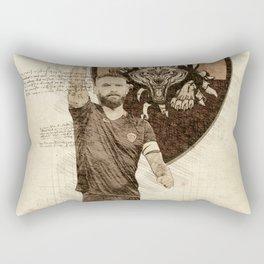 as roma daniele de rossi Rectangular Pillow