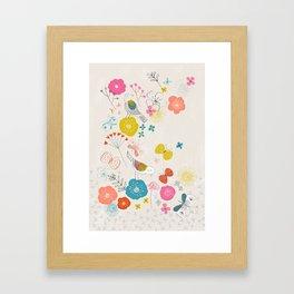 Lovely Garden Framed Art Print