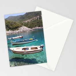 Three Fishing Boats Stationery Cards