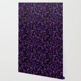 Neon Disco Stars Wallpaper
