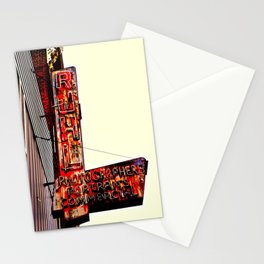 Ruhl's Photography Sign Stationery Cards