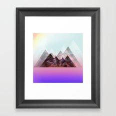 .nirvana. Framed Art Print