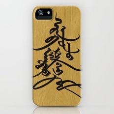 Mongolian calligraphy iPhone (5, 5s) Slim Case