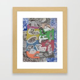 Expiration Conglomerate Framed Art Print
