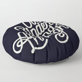 Over Under Around & Through Floor Pillow