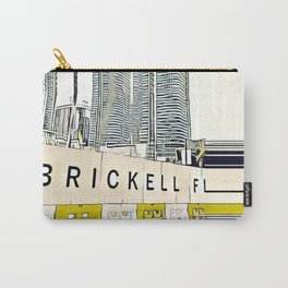 Brickell, FL (cartoon) Carry-All Pouch