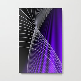 lines and colors -c- Metal Print