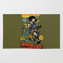 Invasion of the Masters! Rug