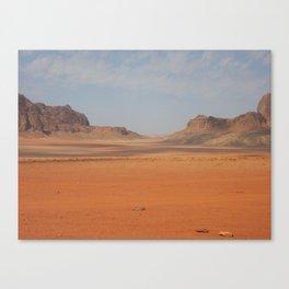 Wadi Rhum Jordan Canvas Print