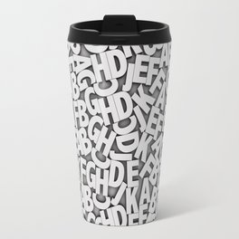 Learn the alfabet Travel Mug