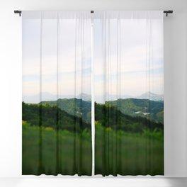landscape near labin croatia toy Blackout Curtain
