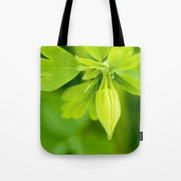 Golden Spur Columbine Tote Bag