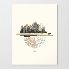 City - Thursday Canvas Print