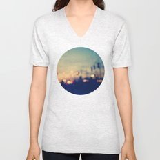 We're only young once Unisex V-Neck