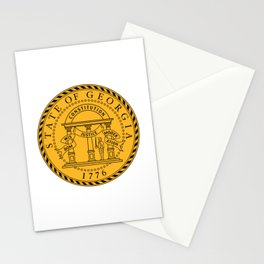 State Seal of Georgia  Stationery Cards