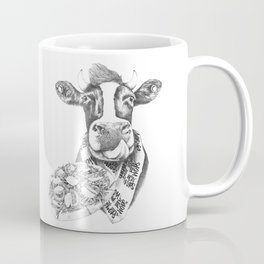 Picky Moo Coffee Mug