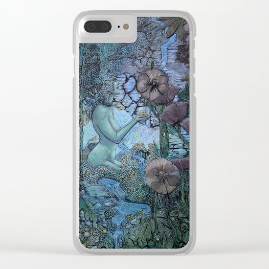 Gaian Forest Clear iPhone Case