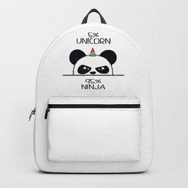 Unicorn Ninja Panda Backpack