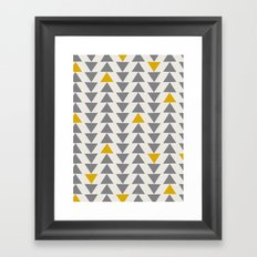 Straight and Narrow Framed Art Print