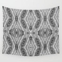 Geometric pattern 21 Wall Tapestry