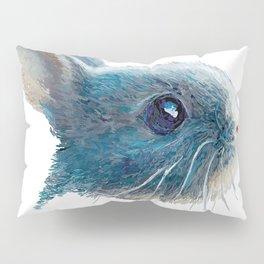 cute bunny illustration Pillow Sham