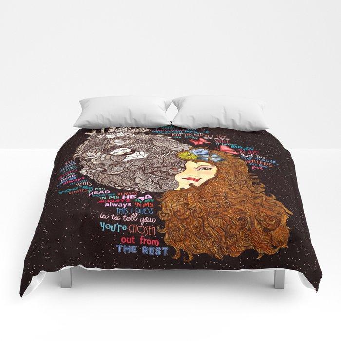 Always In My Head Lyrical Doodle Comforters