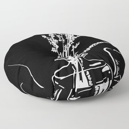 Brynn Monochrome I Floor Pillow