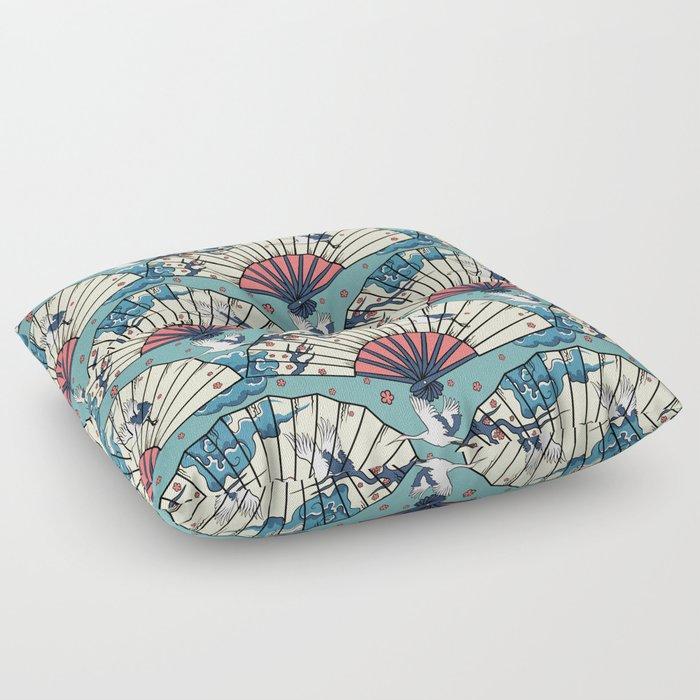 Oriental Fantasy Floor Pillow By