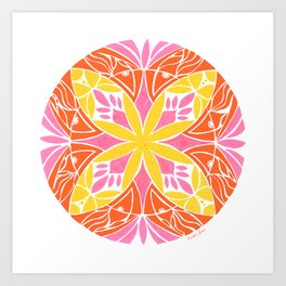 Passion Fruit :: Color Therapy Collection :: Art Print