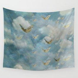 """""""Heaven & butterflies"""" Wall Tapestry"""