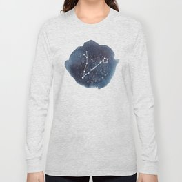 pisces constellation zodiac Long Sleeve T-shirt