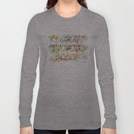 Arabesque pattern Long Sleeve T-shirt
