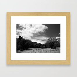 Sky Blanket Framed Art Print