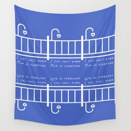 The principle of a baby Wall Tapestry
