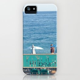 Bonjour, beach. #2 iPhone Case