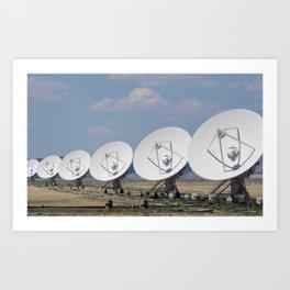 Very Large Array Art Print