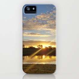 Inbetween Country and Paradise iPhone Case
