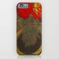 Potted Tagetes. (Canvas) Slim Case iPhone 6s
