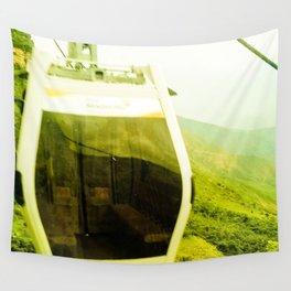 Cableway santandereano in green. Wall Tapestry