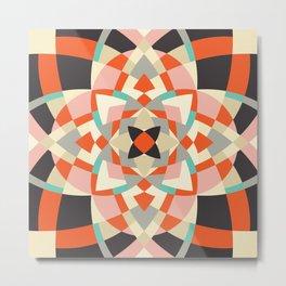 Southwest Quilt #1 Metal Print
