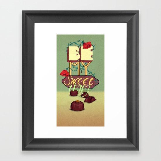 Sweet Thang! Framed Art Print