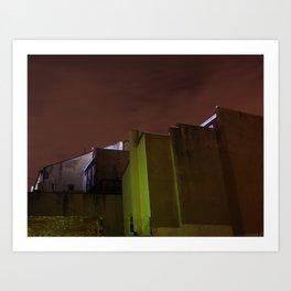 wall 431 Art Print