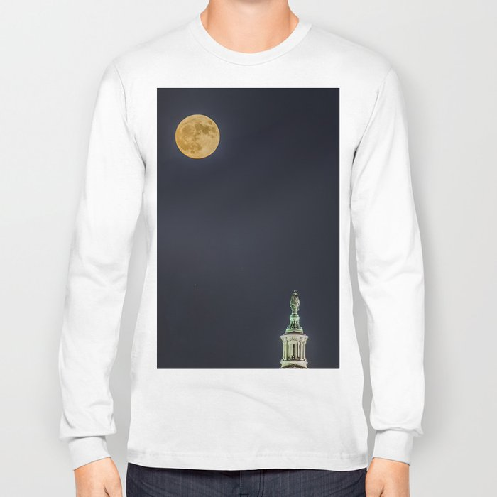 Lady Freedom Long Sleeve T-shirt