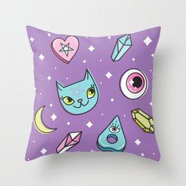 Girl Stuff Throw Pillow
